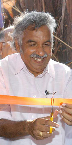 Kerala Opposition Leader Oommen Chandy